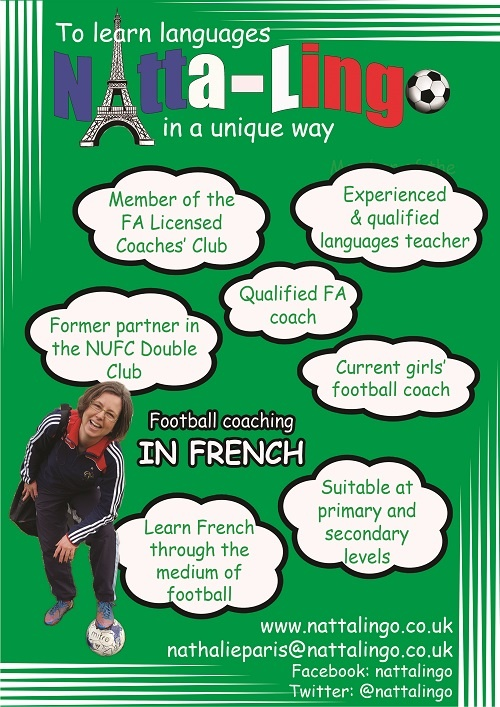 Could your learners benefit from sessions which combine football and French?
