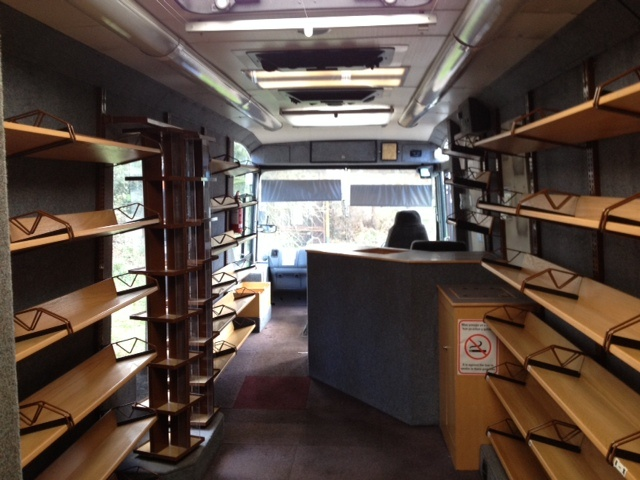 What the mobile library used to look like!