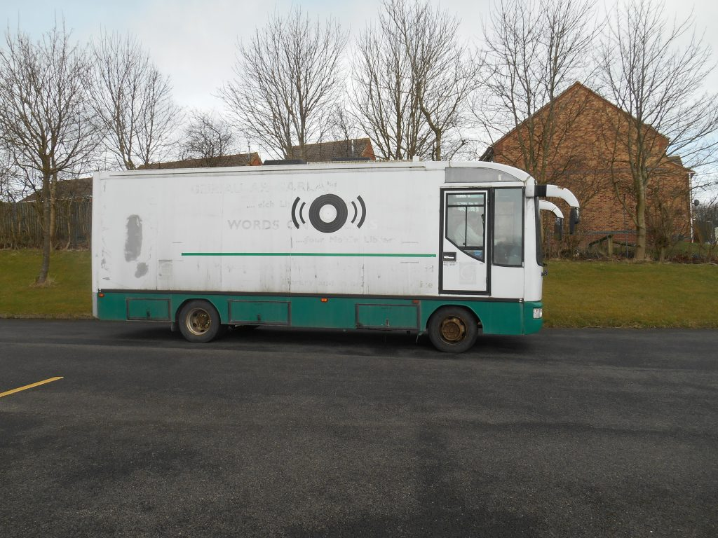 29/03/15: the mobile library has been taken away!!