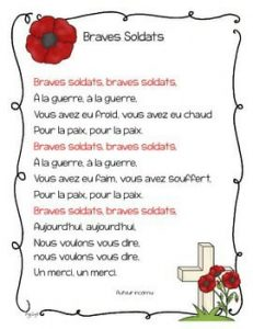Remembrance Day - l'Armistice